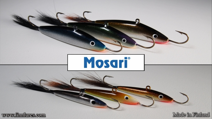 "MOSARI Ice Fishing jigger´s are quite famous and traditional Finnish ""balance"" jigg´s that suite for several species of fish from perch to rainbow trout."