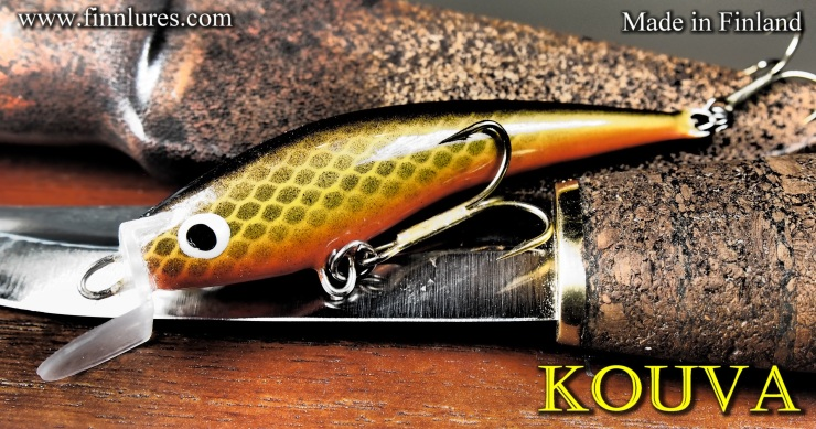 KOUVA Wobbler for trout and salmon