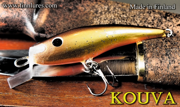 KOUVA Wobbler for salmon and trout