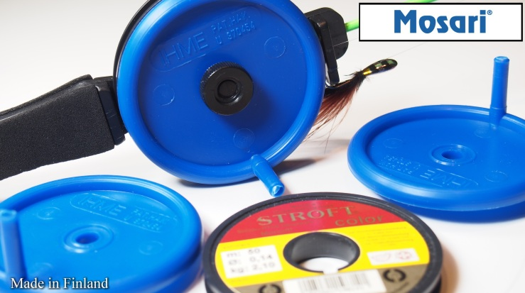 "Mosari "" IHME "" spare spool for ice fishing rod"