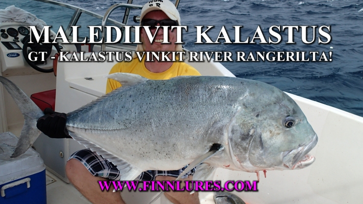 Yes, there is no GT´s in Finland, but knowledge to make good top water lures for GT´s and other species can be found. #popper #popping #gtfishing #fishing #maldives #gianttrevally #malediivit #popperikalastus #finnlures #fishingguide #kalastusopas